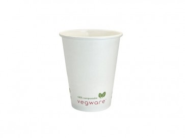 Compostable 4 oz. White Hot Cup