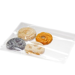 "4-3/4"" X 6-3/4"" Biodegradable Flat Cellophane Bags"