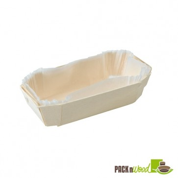 Wooden Baking Mold - 4.5 x 2.3 x 1.3 in.