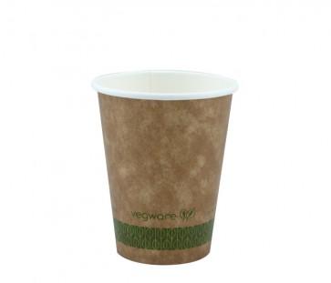 12 oz. Kraft Compostable Hot Cup