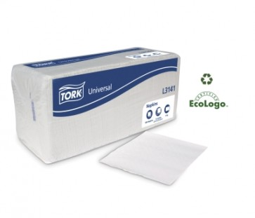 Lencheon Napkin 100 Percent Recycled SCA Tork L3141