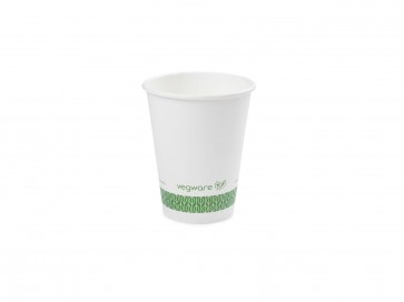 6oz White Compostable Hot Cup