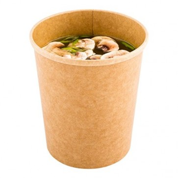 16 oz. Kraft Recyclable Soup Cup