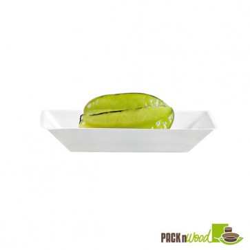"""Eco-Design"" Sugarcane Plate - 6.69 x 5.12 in."