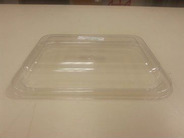 Recyclable Lid For Kraft Entree Tray