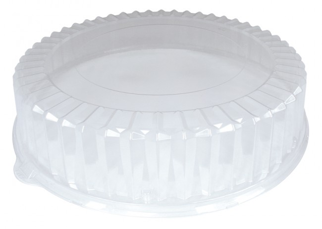 """18"""" Clear Dome Lids for Catering / Deli / Party Trays"""