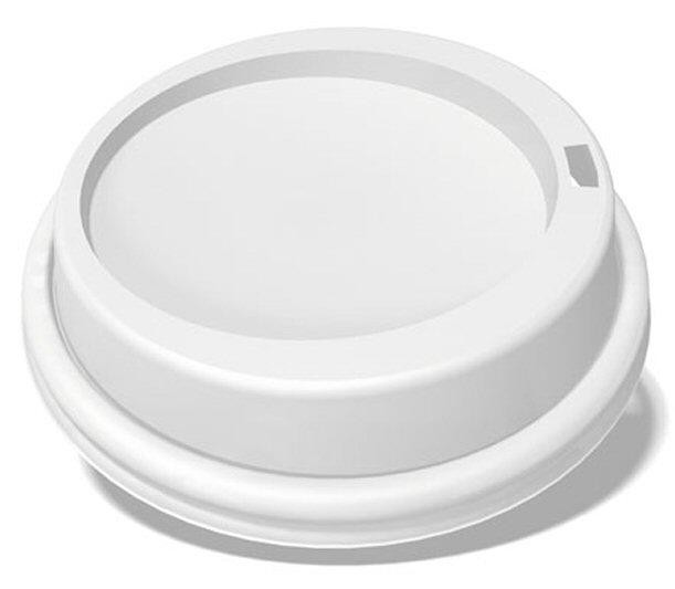 Ecotainer 8 Oz Pet Dome Lids For Biodegradable Hot Cups Coffee