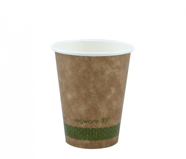 Vegware KV-12 Kraft Hot Cup Brown 12 oz