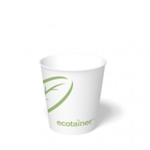 10 oz. Ecotainer Biodegradable Hot Cups / Coffee Cups, Compostable