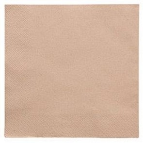 "15.75"" 2-Ply Unbleached Dinner Napkin"
