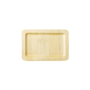 """12"""" x 8.5"""" Biodegradable Rectangle Bamboo Tray"""