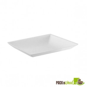 """Bio 'n' Chic"" Mini Sugarcane Plate - 3.54 in."