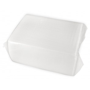 "16 x14.5"" 2-Ply White Dinner Napkin"