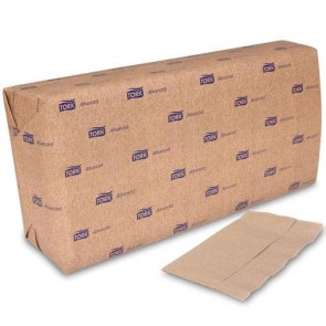 "100% Recycled Dispenser Compostable Napkins, Interfold, 13"" x 8 1/2"""