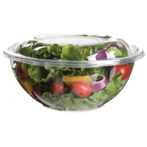 24oz PLA Salad Bowl with Lid