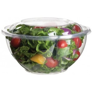 32oz PLA Salad Bowl with Lid