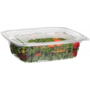 24oz Rectangular Corn Plastic Deli Food Containers