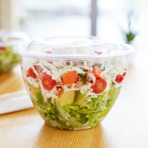 48oz Clear Compostable Salad Bowl