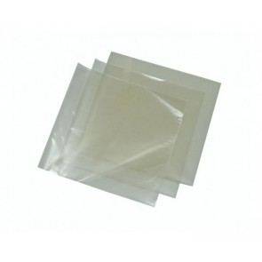 Clear Cellophane Sheets 4x4 Biodegradable (C44) 5000/cs