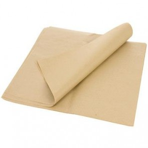 "12"" x 12"" Natural Kraft Sandwich Wrap / Basket Liner"