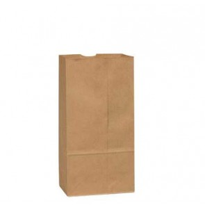 12 lb. Duro Brown Paper  Bags, 1000 per Case