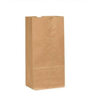 10 lb. Duro  Brown Paper Bags, 2000 per Case