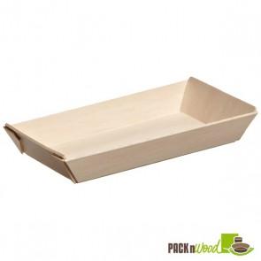 Samurai - Rectangular Wooden Dish - 5.1 x 2.5 x 0.79 in.