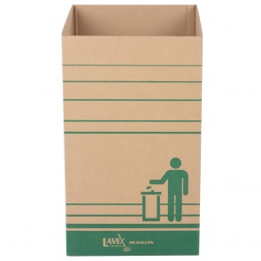 Large Square Cardboard Recycling Container