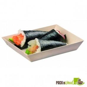 Samurai - Rectangular Wooden Dish - 6 x 3.3 x 1.10 in.