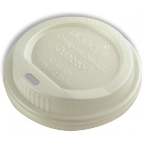 Planet+ 8 oz. Compostable Hot Cup Lid
