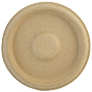 2 oz. Plant Fiber Biodegradable Compostable Portion Cup Lid