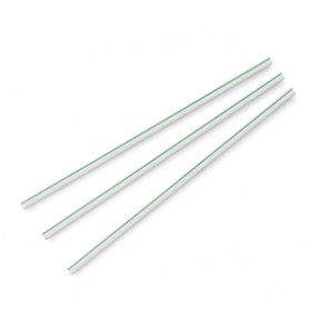 "8.25"" x 5mm Unwrapped ECO Compostable Straws"