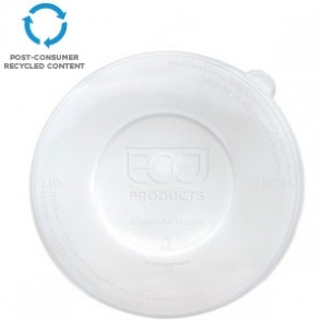 100% Recycled Content Lid, Fits 24-40oz Sugarcane Bowls