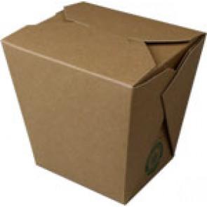 8 oz Kraft Take-Out Box