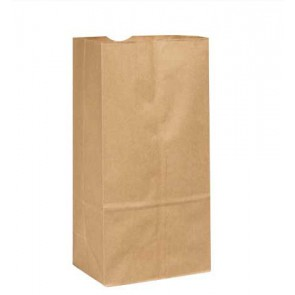 20 lb. Duro Tiger Brown Paper Bags, 1000 per Case