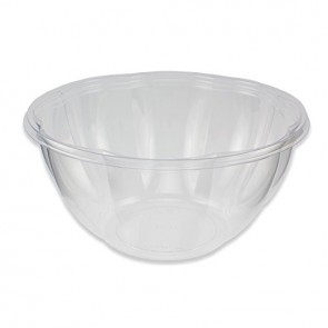 24oz Clear Compostable Salad Bowl