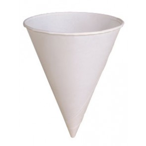 6 oz. Paper Cone Cups 6RB-2050
