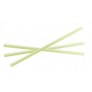 "8.25"" x 7mm Unwrapped Jumbo PLA Straw"