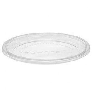 Compostable Recessed Lid for PLA Deli Container