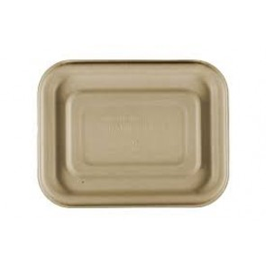 Compostable Wheatstraw Small Entree Tray LID