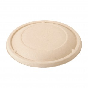 Fiber Lid for 16, 24, and 32oz Plant Fiber Bowls