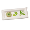 Clear Lid for Square White Sugarcane Plate - 10.2 in.